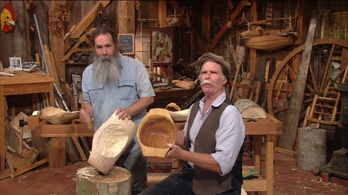 The Woodwright S Shop Bowl Carving With Peter Follansbee