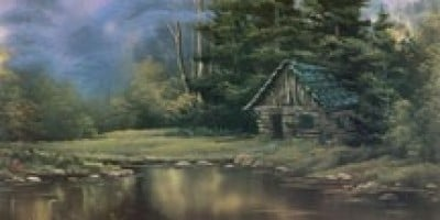 Best Of The Joy Of Painting Wilderness Cabin Wttw