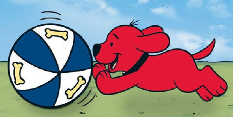 Clifford The Big Red Dog Ball