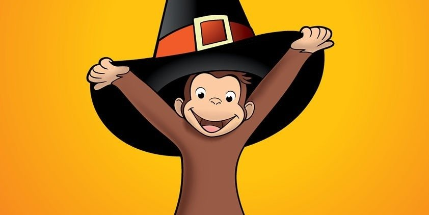curious george a halloween - Curious George Halloween Games
