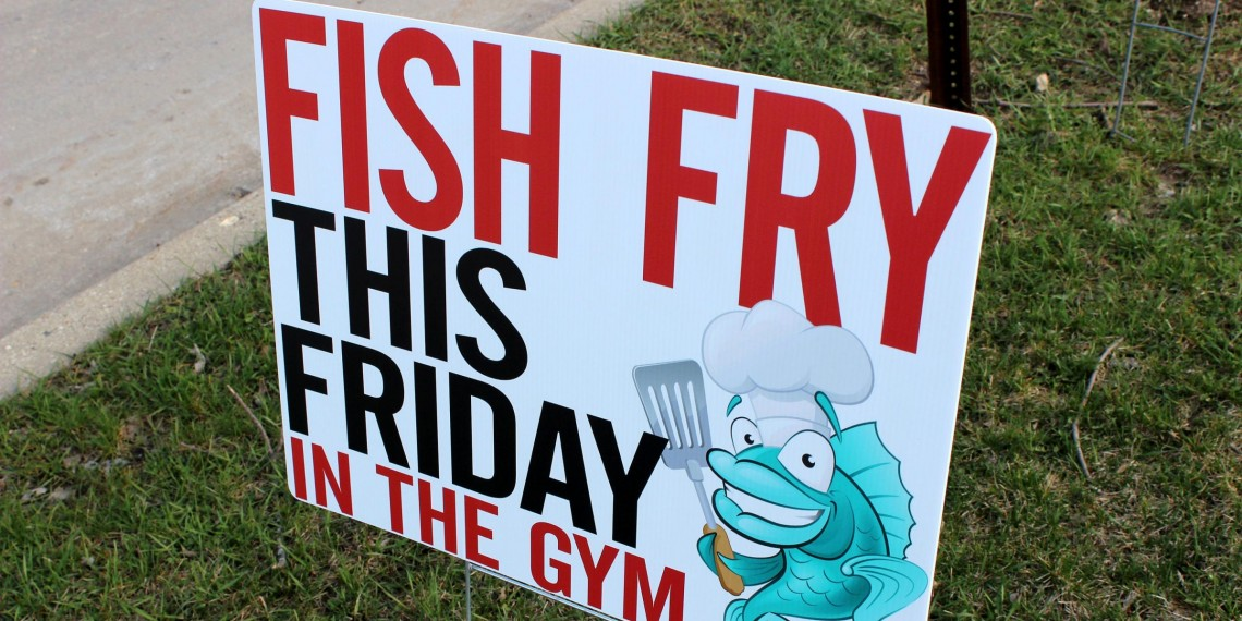 We're Here for a Fish Fry!