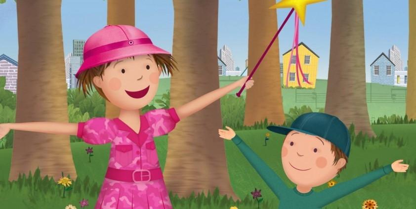 Peter's Blues/Pink Raspberry